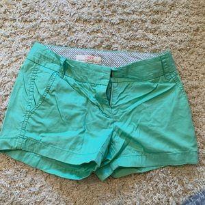 Jcrew shorts mint color